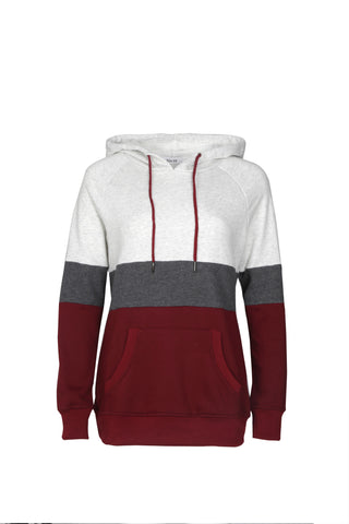 Multi-colored Hooded Sweatshirt
