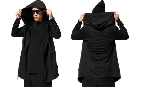 Adult Halloween Cloak Witch/Wizard Hooded Cloak