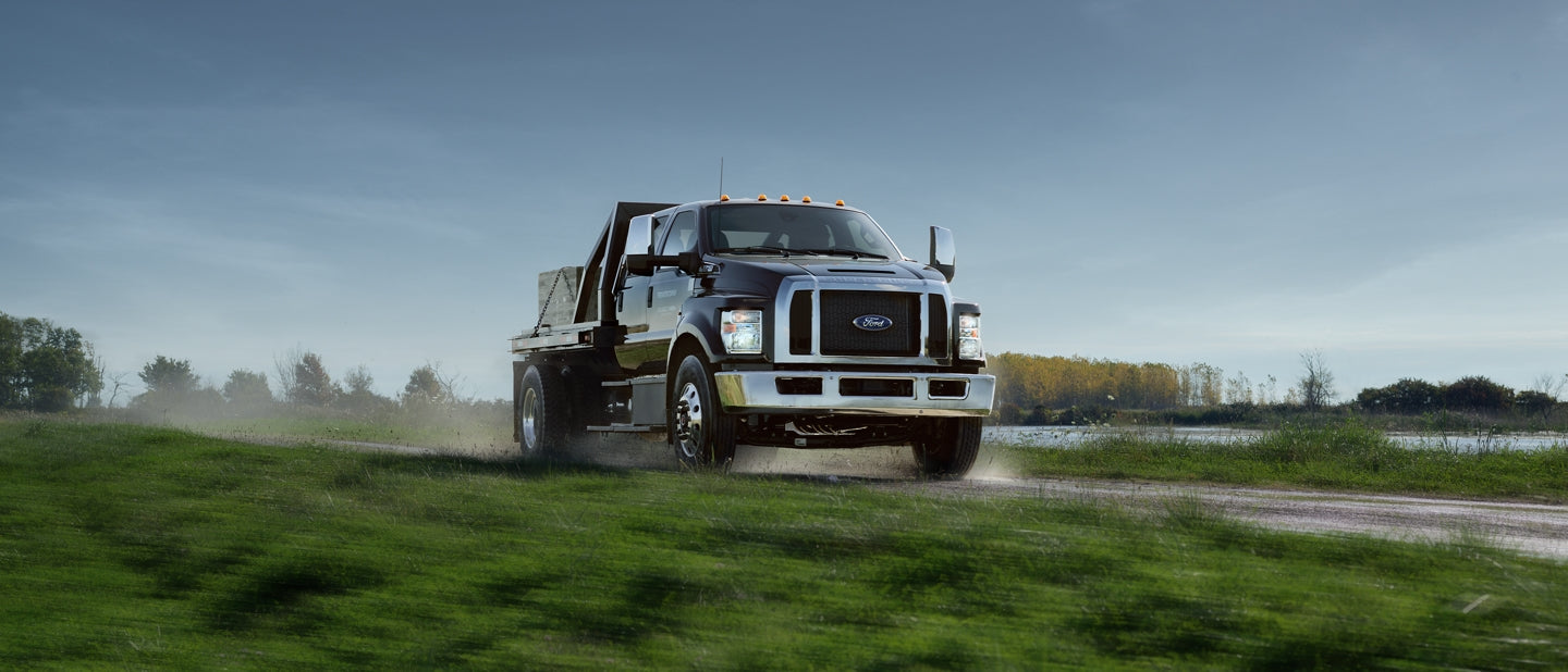 Ford F650 F750 with Cummins Diesel Engine Programming