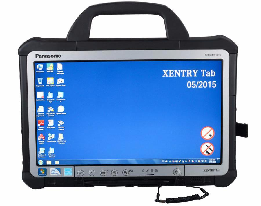 Mercedes Xentry Tab