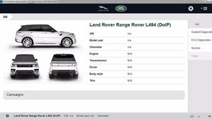 Jaguar LandRover SDD Pathfinder License Subscription