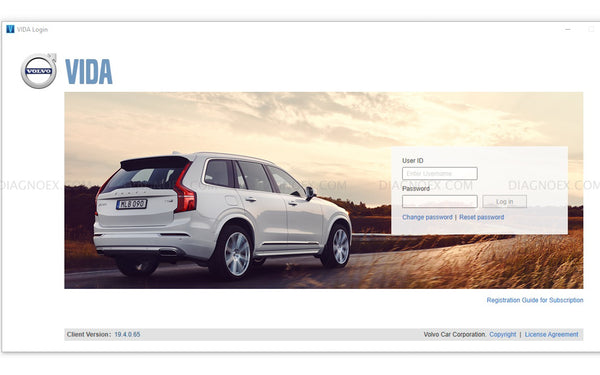 VOLVO VIDA Software License Subscription