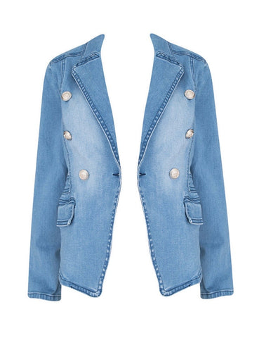 Emmy Denim Blazer