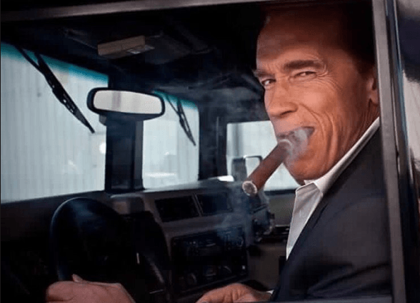 How Arnold Schwarzenegger Came to Smoke Cigars