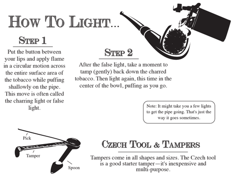 How to Light a Pipe