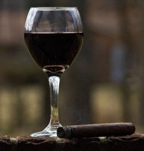 Wine and a Cigar