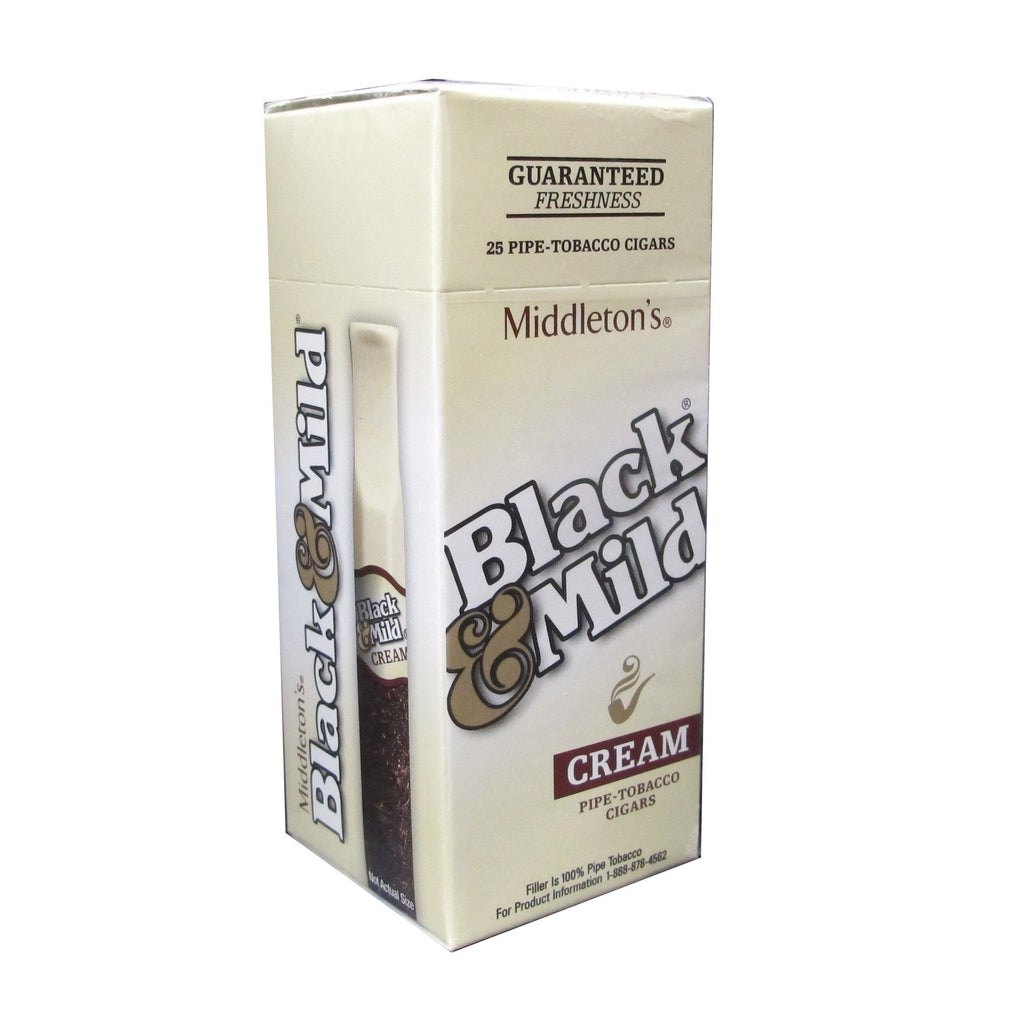 Black & Mild Cream Cigars | BnB Tobacco