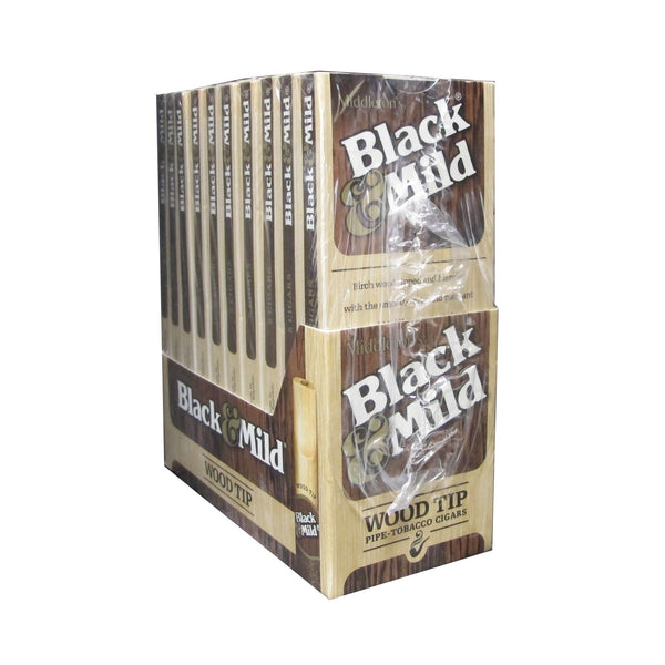 Black & Mild Regular Wood Tip Cigars