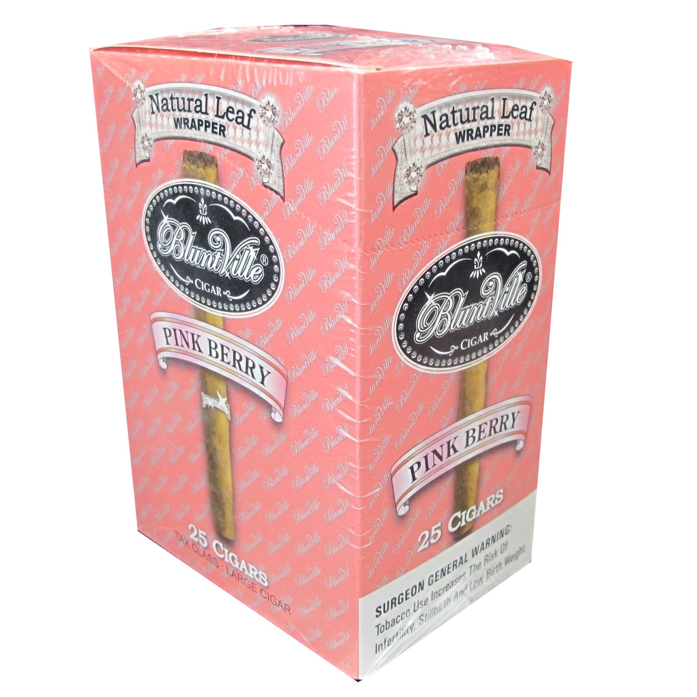 Bluntville Pink Berry Double Wrapped Cigars