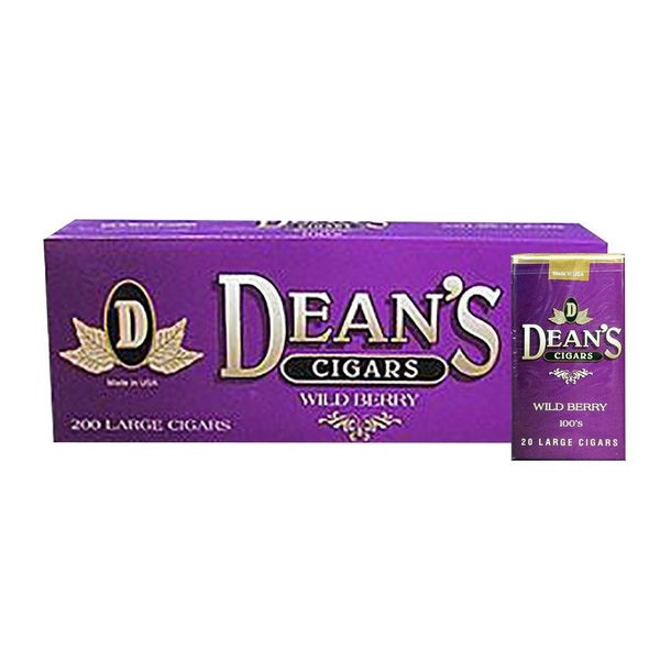 Dean's Wild Berry Little Cigars