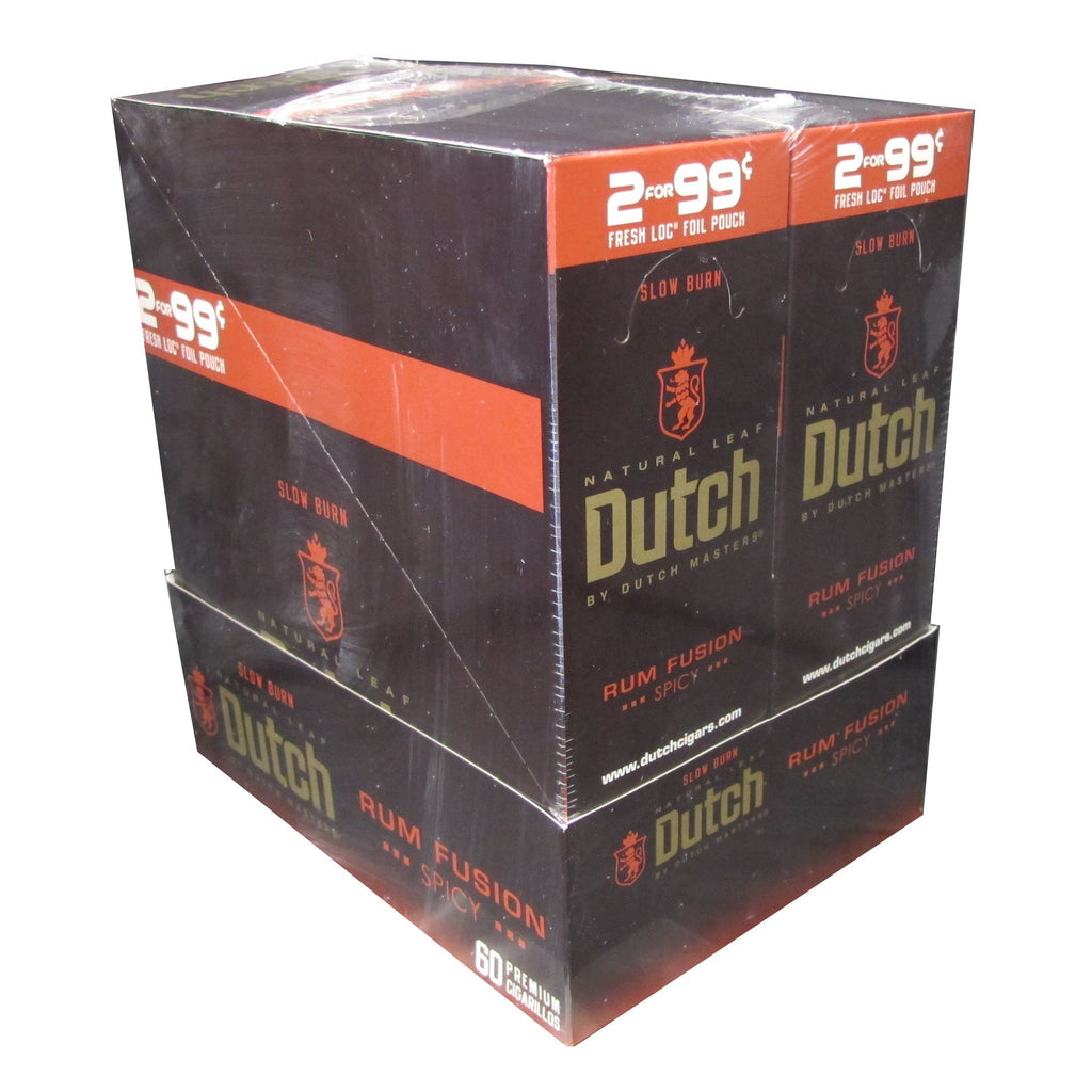 Dutch by Dutch Masters Rum Fusion Cigarillos