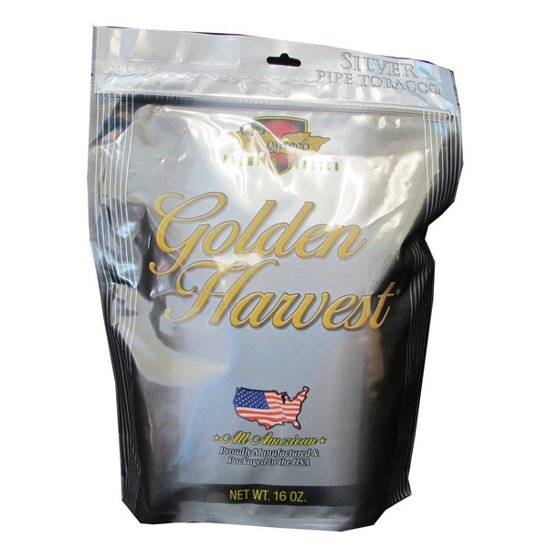 Golden Harvest Silver Pipe Tobacco