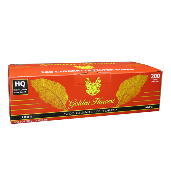 Golden Harvest Red (Full Flavor) Cigarette Tubes
