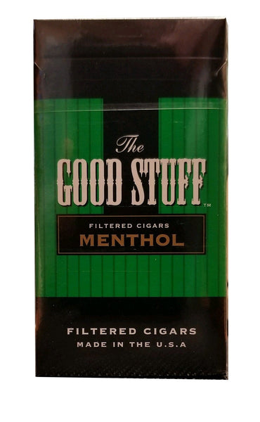 Good Stuff Menthol Little Cigars