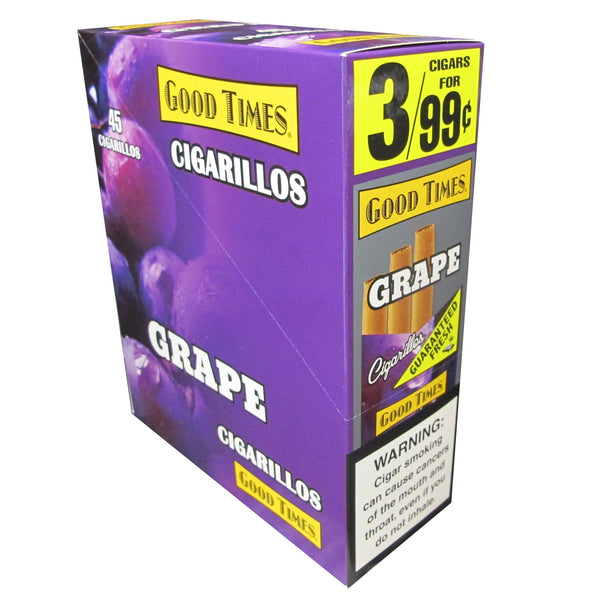 Good Times Grape Cigarillos