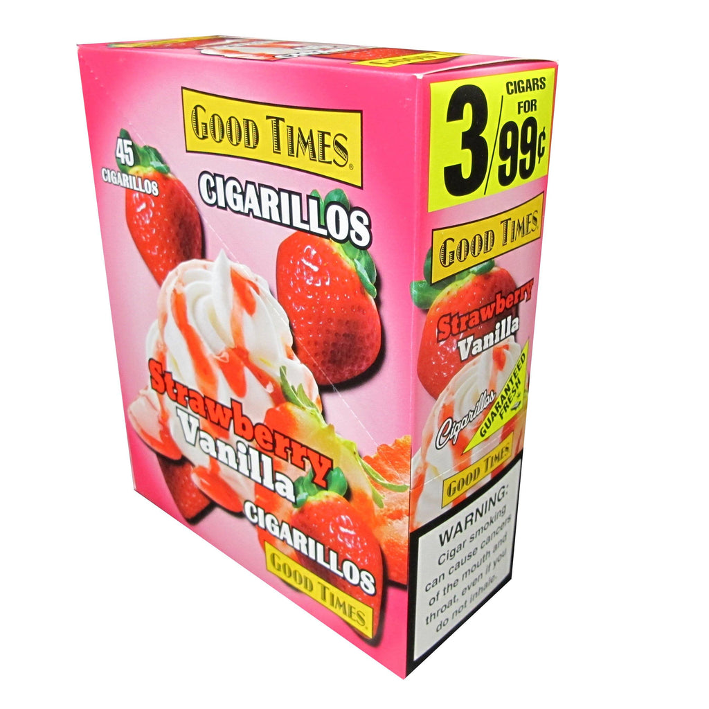 Good Times Strawberry Vanilla Cigarillos