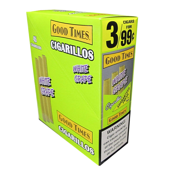 Good Times White Grape Cigarillos