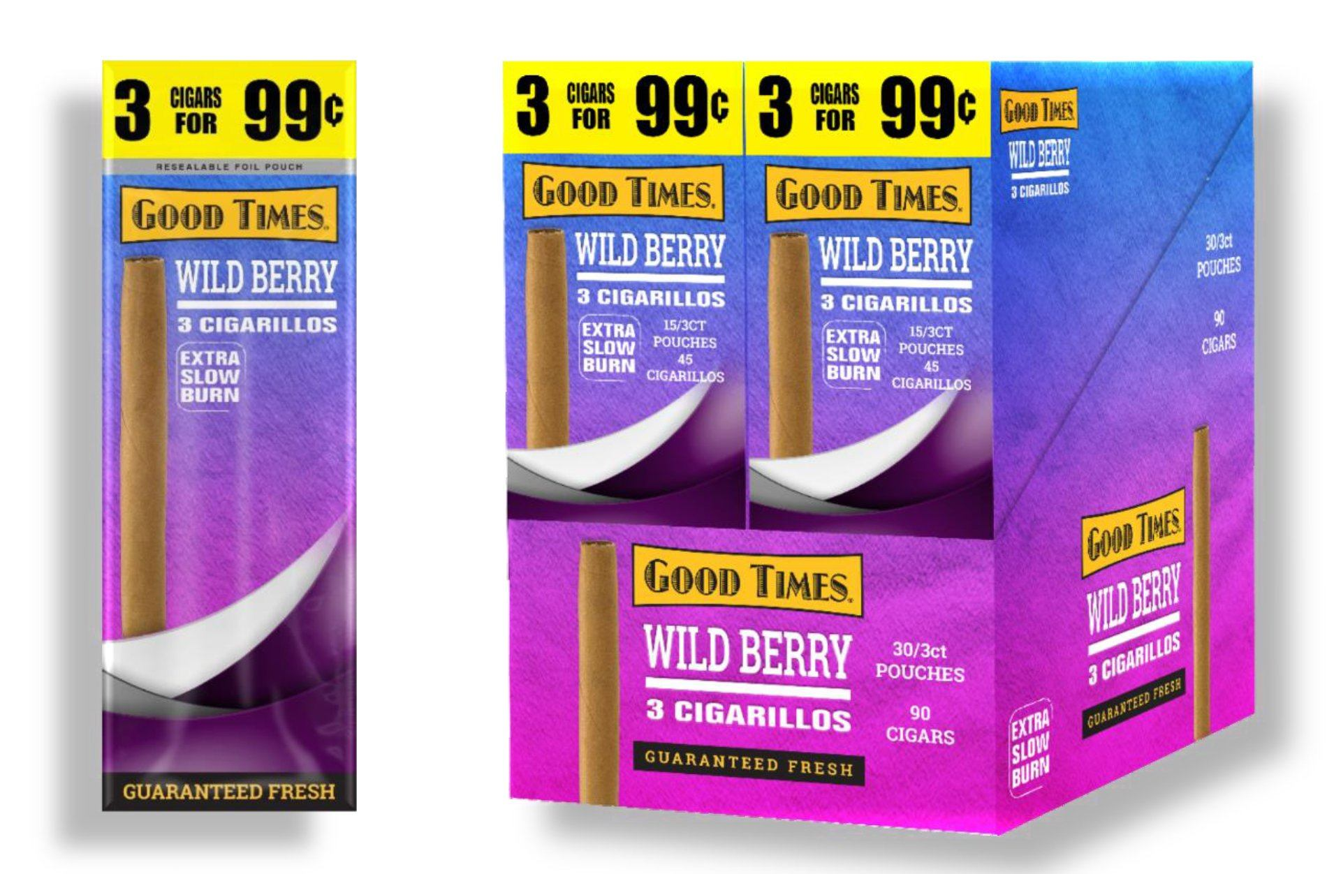 Good Times Wild Berry Cigarillos