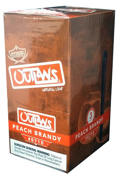 Swisher Sweets Peach Brandy Outlaws Cigars
