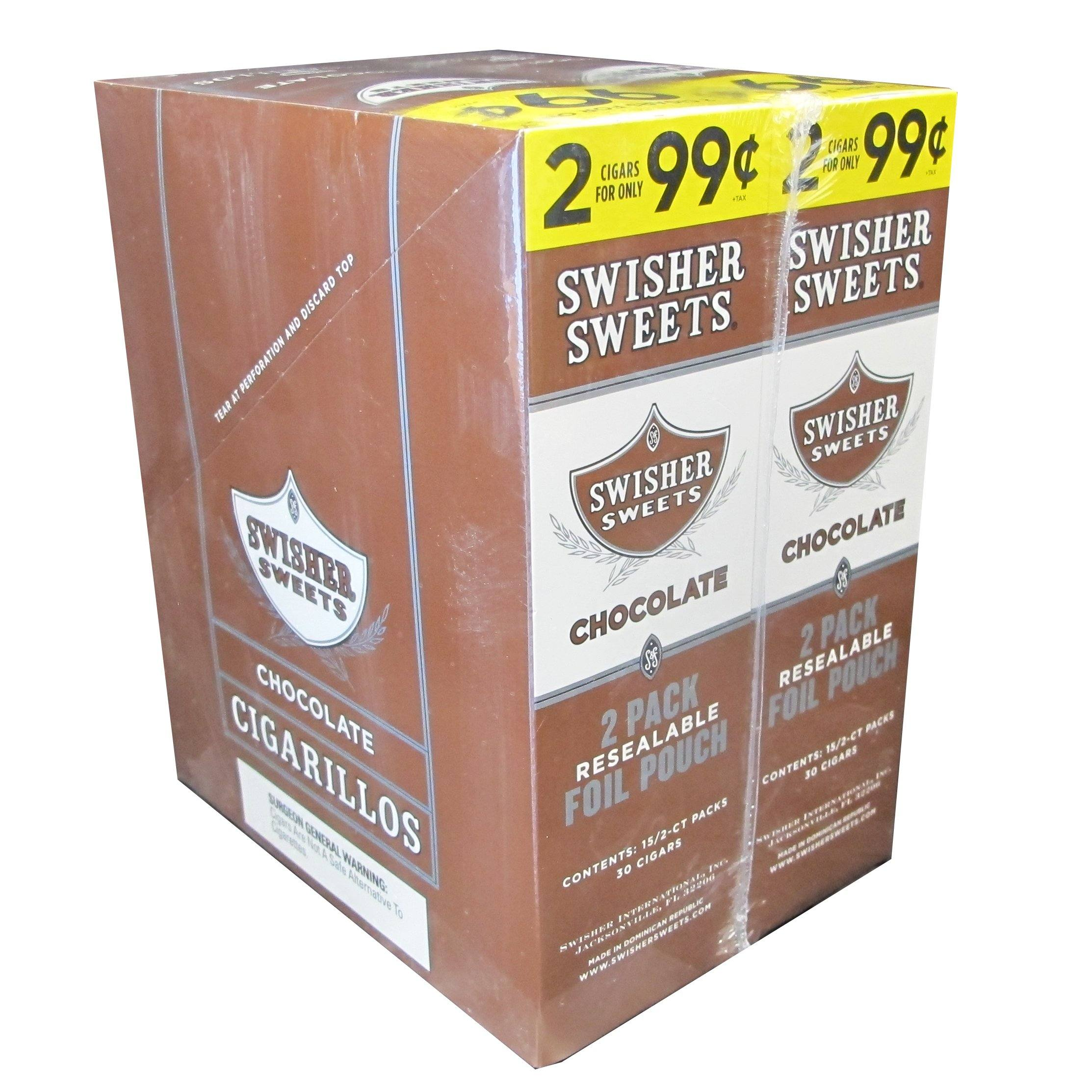 Swisher Sweets Chocolate Cigarillos