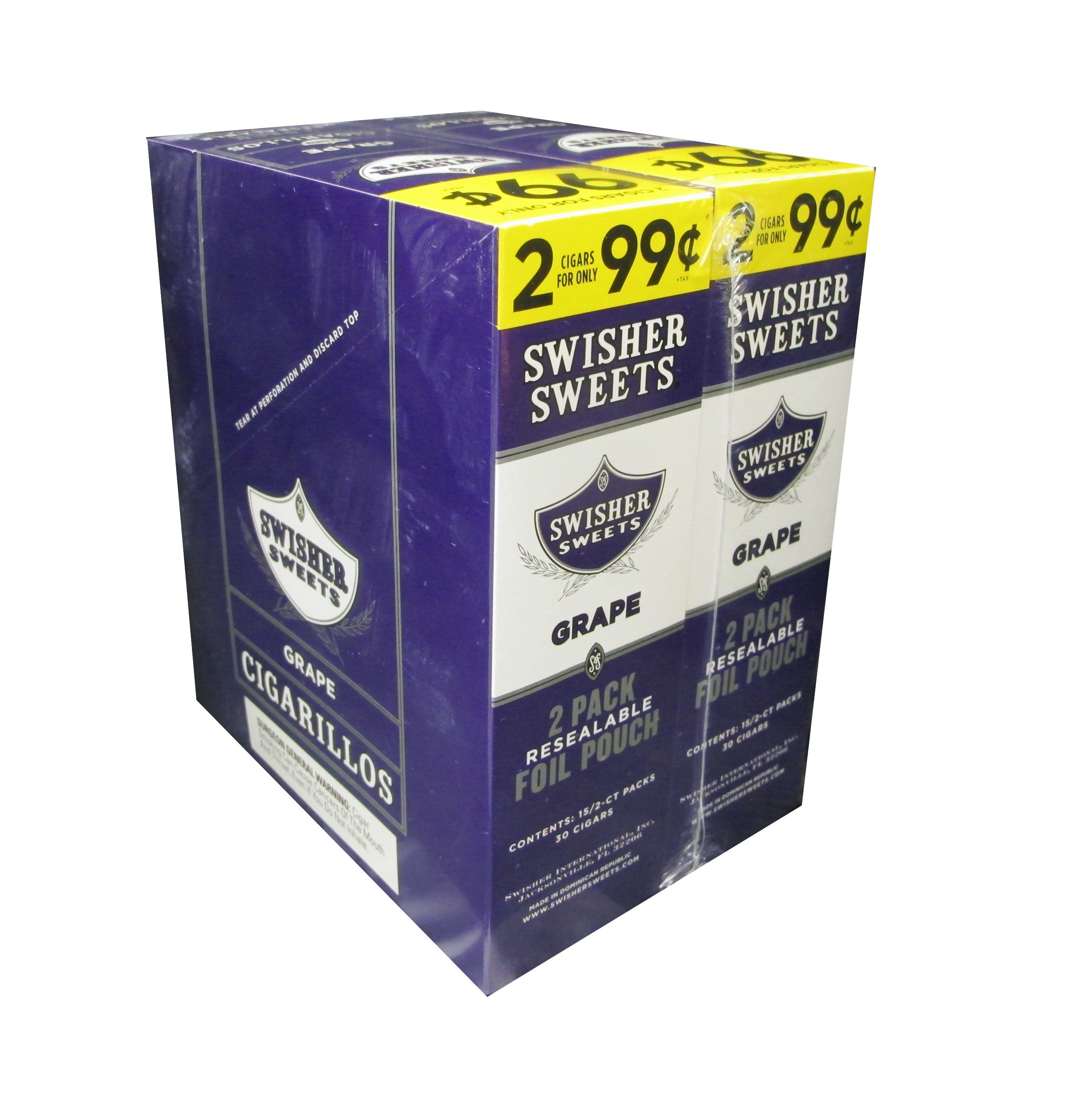 Swisher Sweets Grape Cigarillos