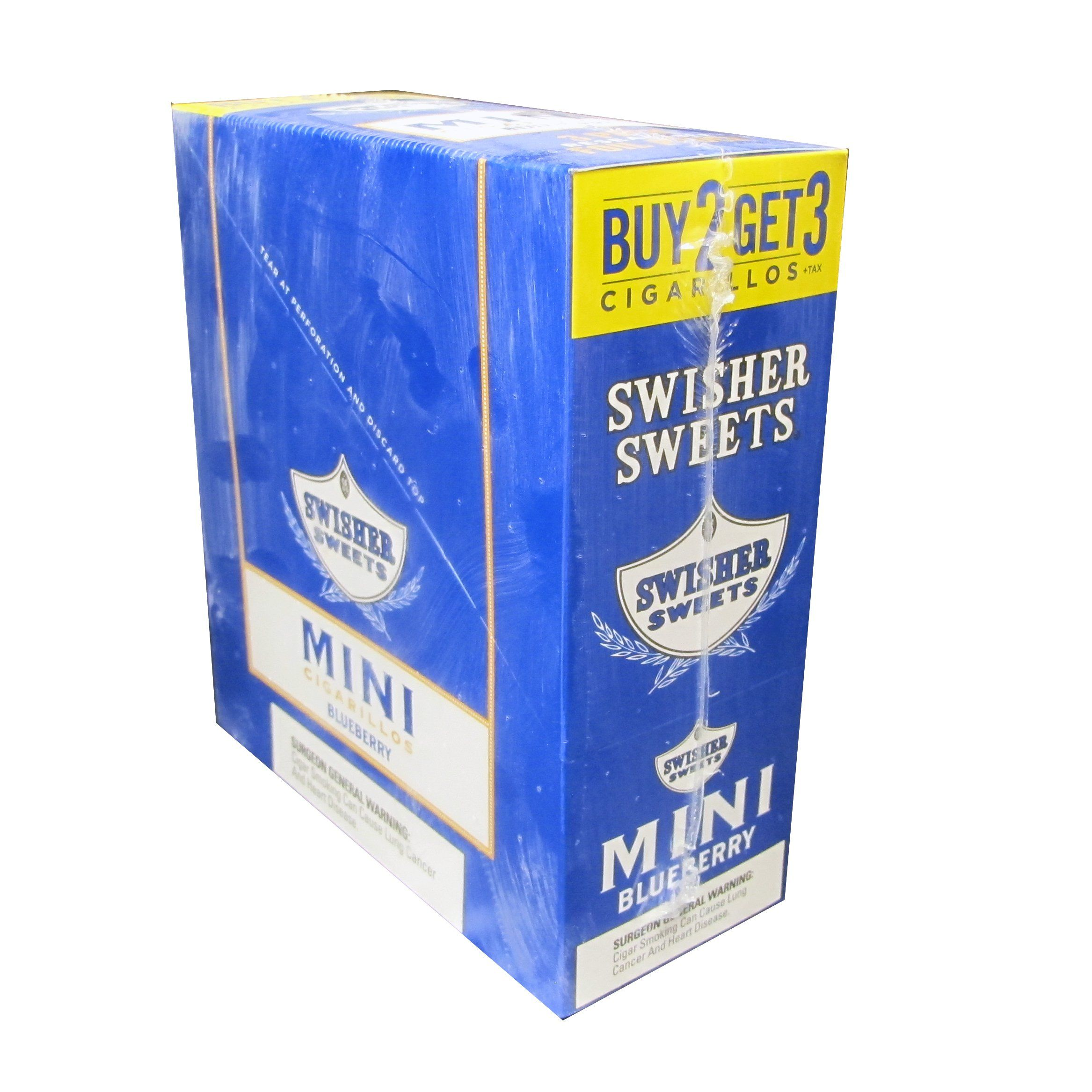 Swisher Sweets Mini Cigarillos Bluberry 3x15 (45ct)