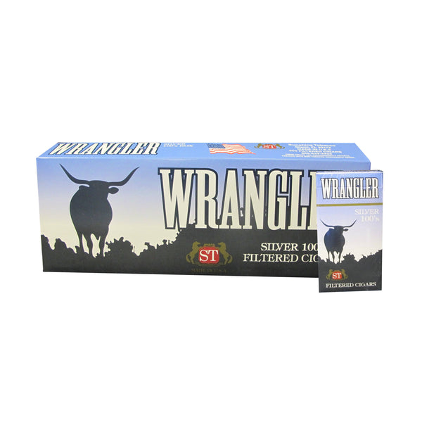 Wrangler Silver Light Little Cigars