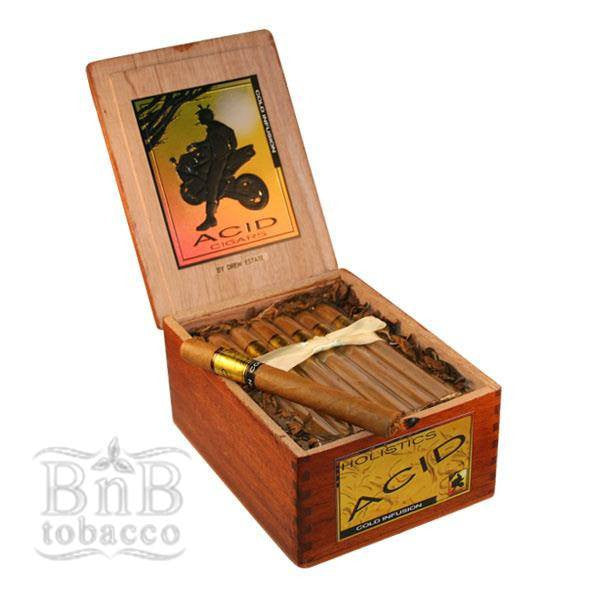 Acid Gold Cigars w/Humidor