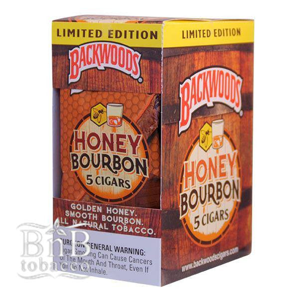 Backwoods Honey Bourbon Cigarillos Carton