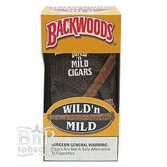 Backwoods Original Wild & Mild Cigarillos Carton