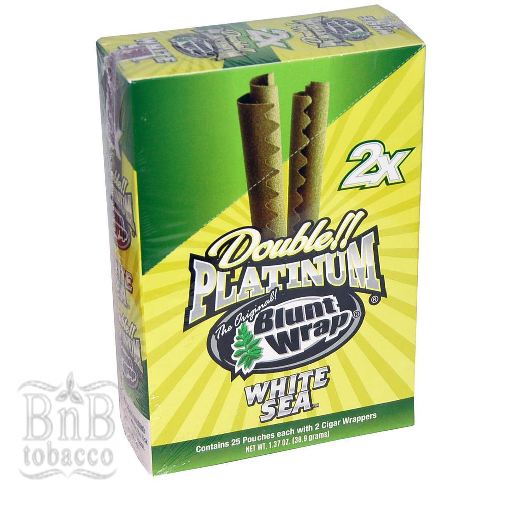 Blunt Wrap White Sea Double Platinum Wraps