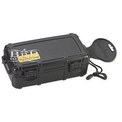 Cigar Caddy Black Travel Humidor