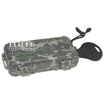 Cigar Caddy Camouflage Travel Humidor