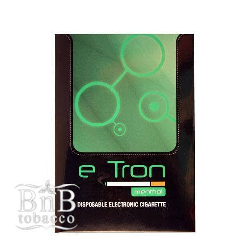 E-Tron Menthol Disposable E-Cigarette