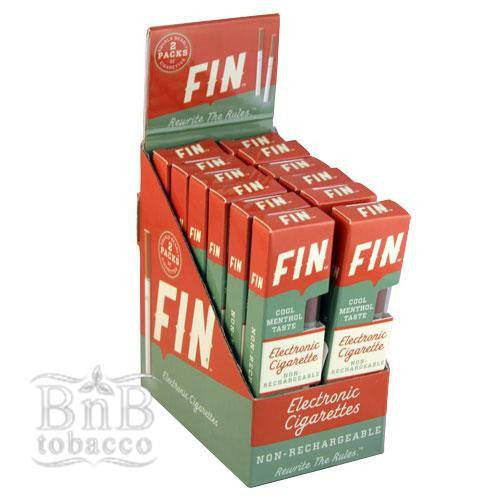 Fin Cool Menthol Disposable E-Cigarette