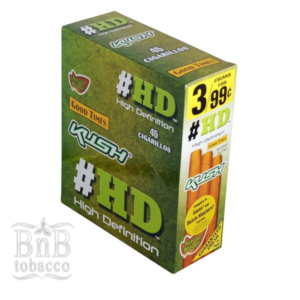 Good Times HD Kush Cigarillos