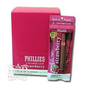 Phillies Strawberry Cigarillos