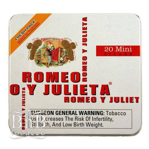 Romeo y Julieta Small Cigars
