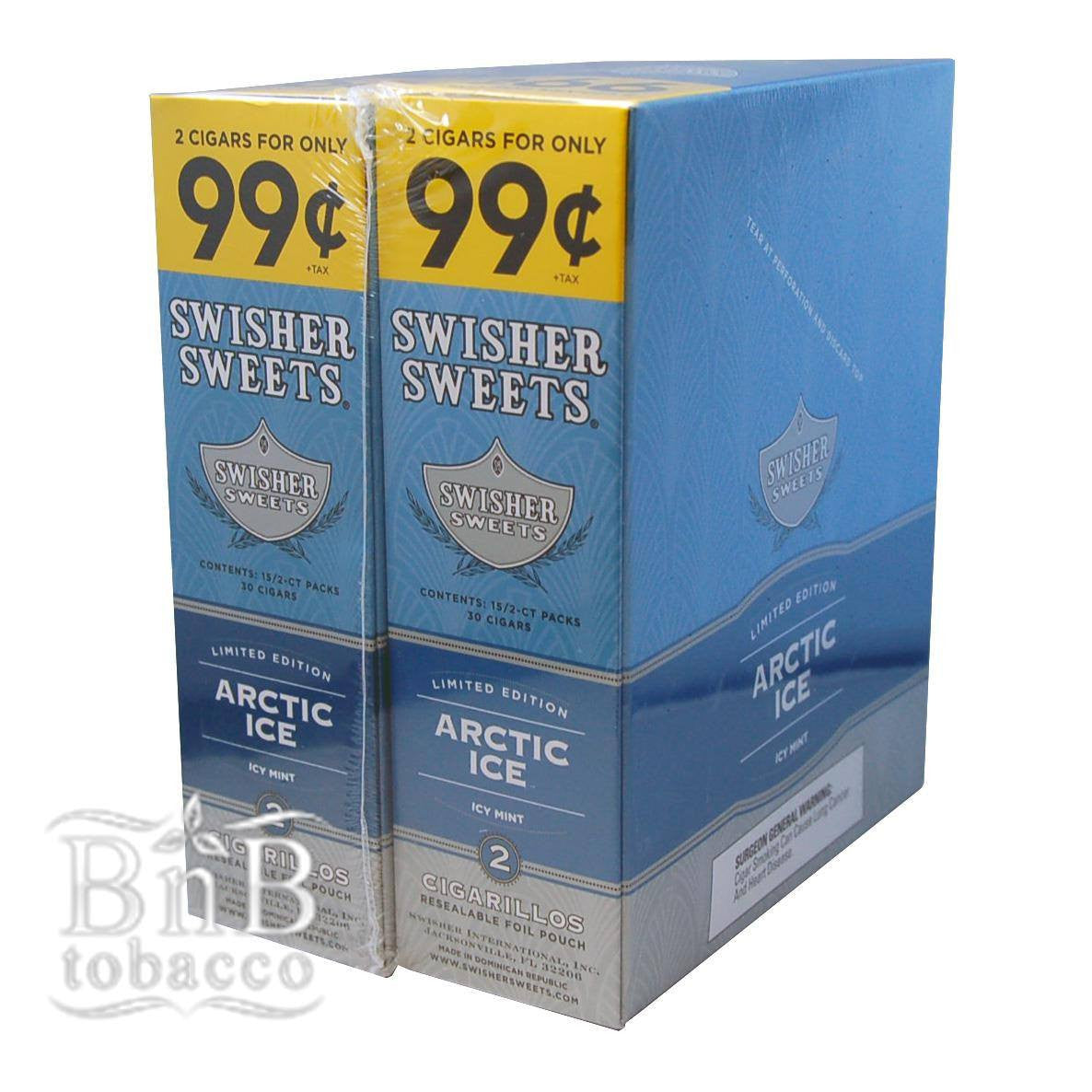 Swisher Sweets Arctic Ice Cigarillos