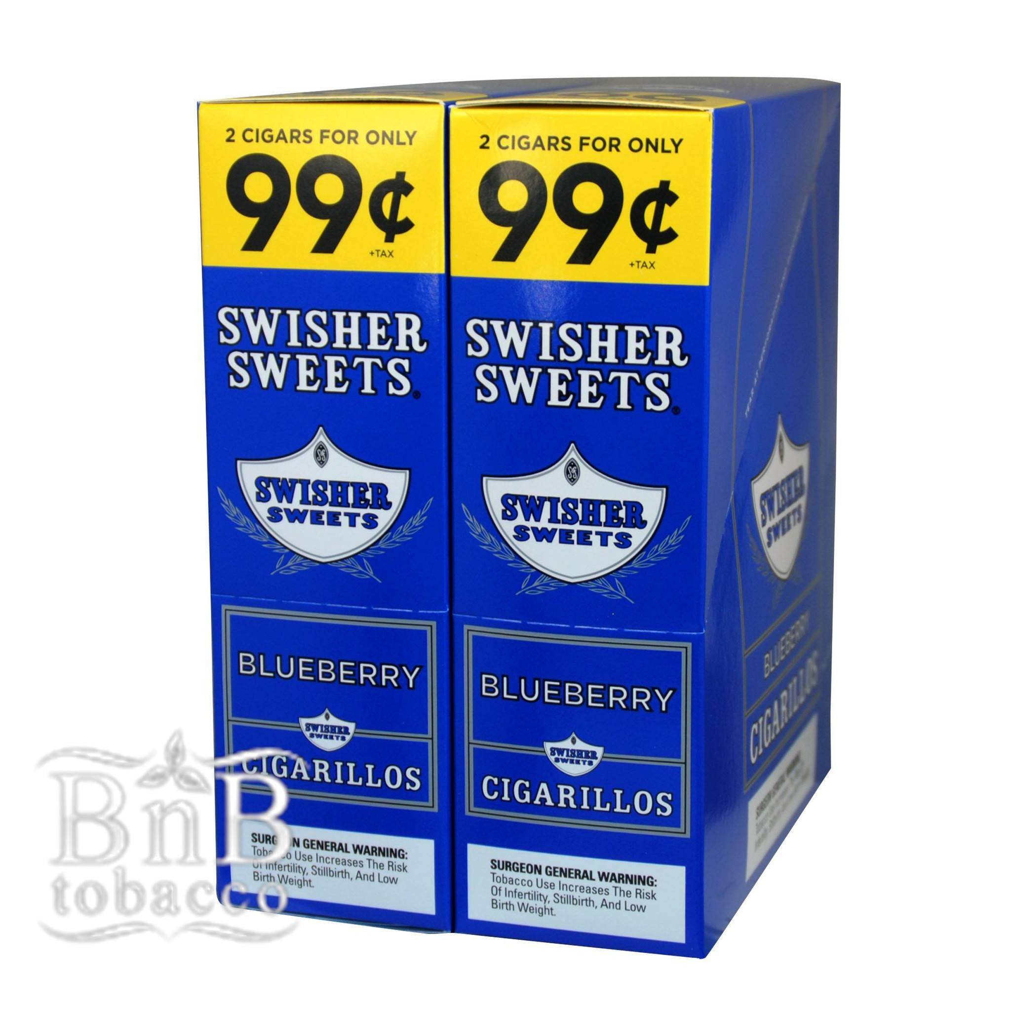 Swisher Sweets Blueberry Cigarillos