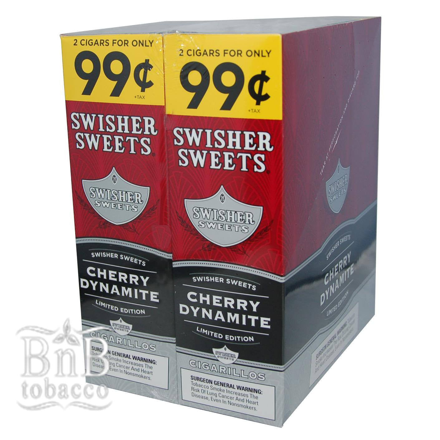 Swisher Sweets Cherry Dynamite Cigarillos