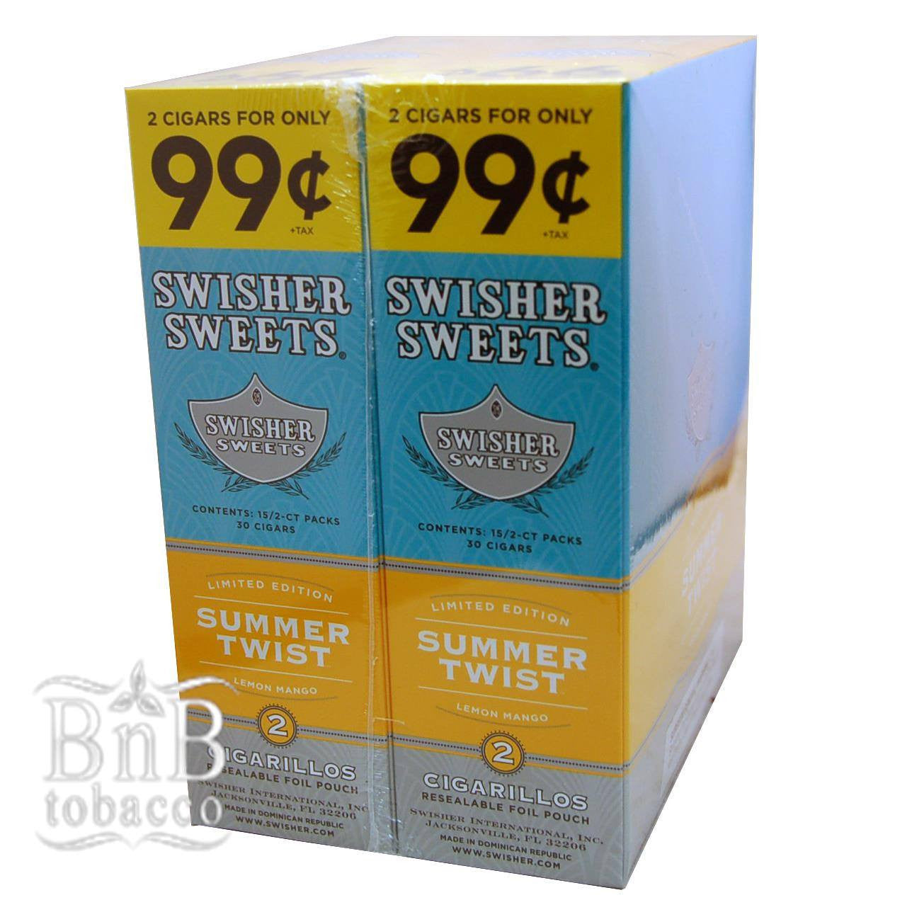 Swisher Sweets Summer Twist Cigarillos