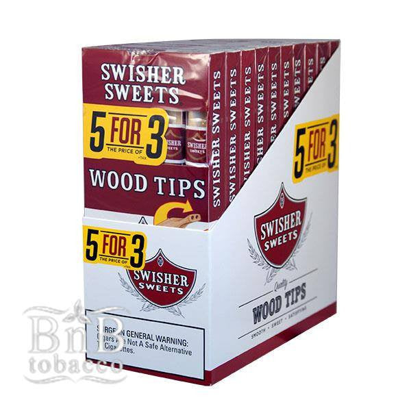Swisher Sweets Wood Tip Cigarillos
