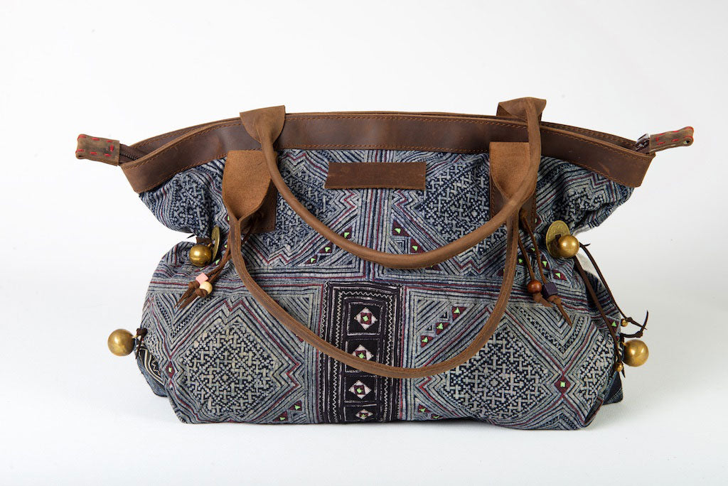 African Queen - Large Boho Shoulder Bag