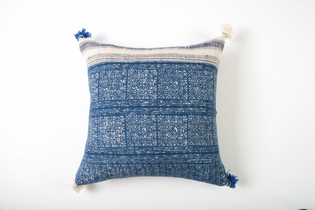 Hmong Tribal Cushion 45cm x 45cm