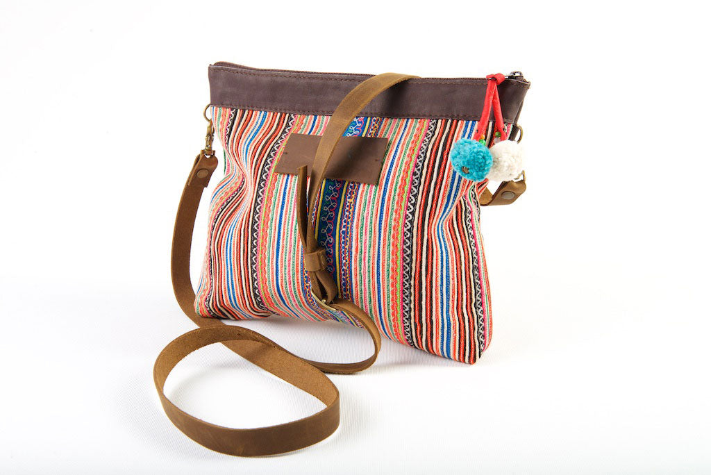 Some Like It Hotter - Vintage Boho Compact Shoulder Bag