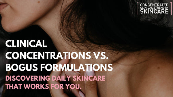 Clinical Concentrations vs. Bogus Formulations
