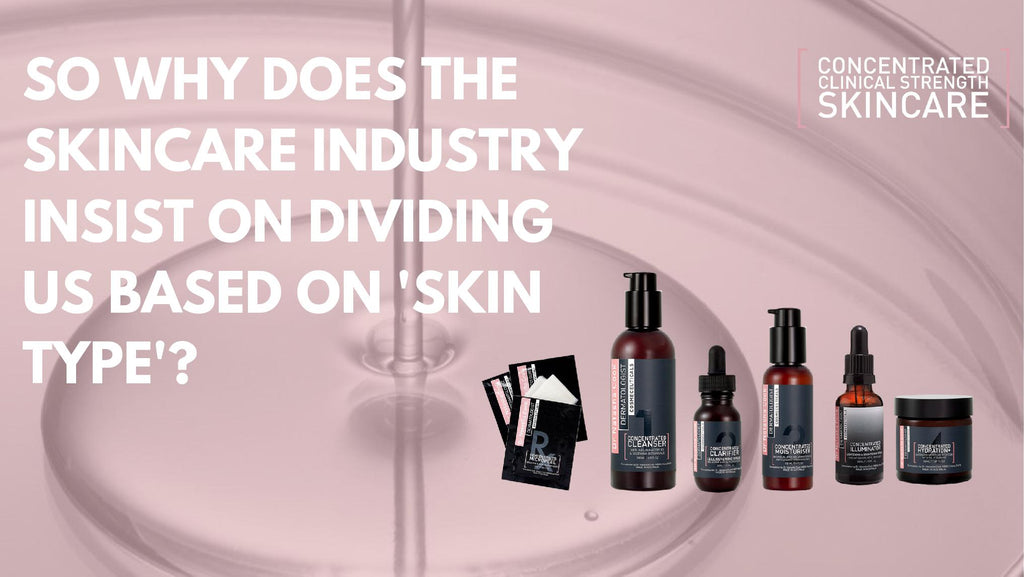 Universal Skincare for all Skin Types.