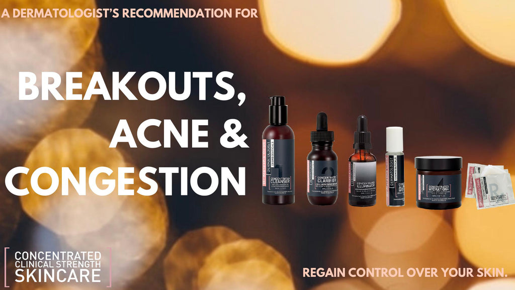 Breakouts, Acne and Congestion - Oh my!