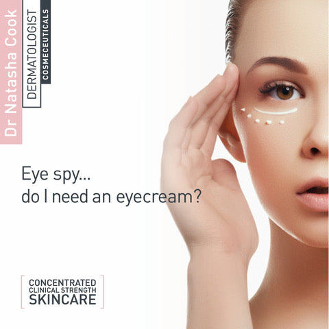 I spy with my little eye... Do you need an eyecream?